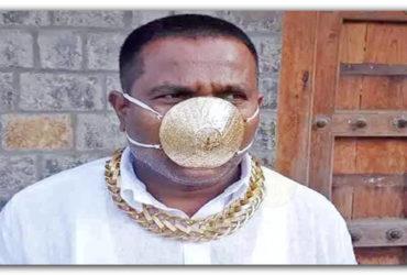 pune-man-wearing-golden-mask