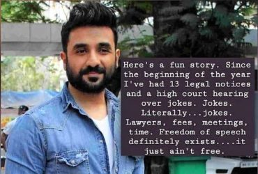 vir das served 13 legal notices