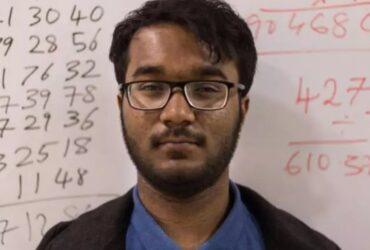 "21 -year-old Indian Mathematics Wizard Neelakanta Bhanu Prakash bags ""World Fastest Human Calculator "" Title"