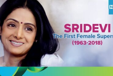 First-female-superstar-Sridevi