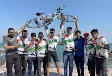 Om Mahajan's next challenge is RAAM, often described as the toughest cycle race on the planet. To finish the successfully OM will have to ride 4,800 km within 12 days.