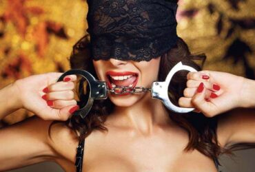 Experiment with your bondage fantasies using neckties to tie your partner's wrist and get into the BDSM vibe. Play a little strip fame to heat the environment before you get down to business