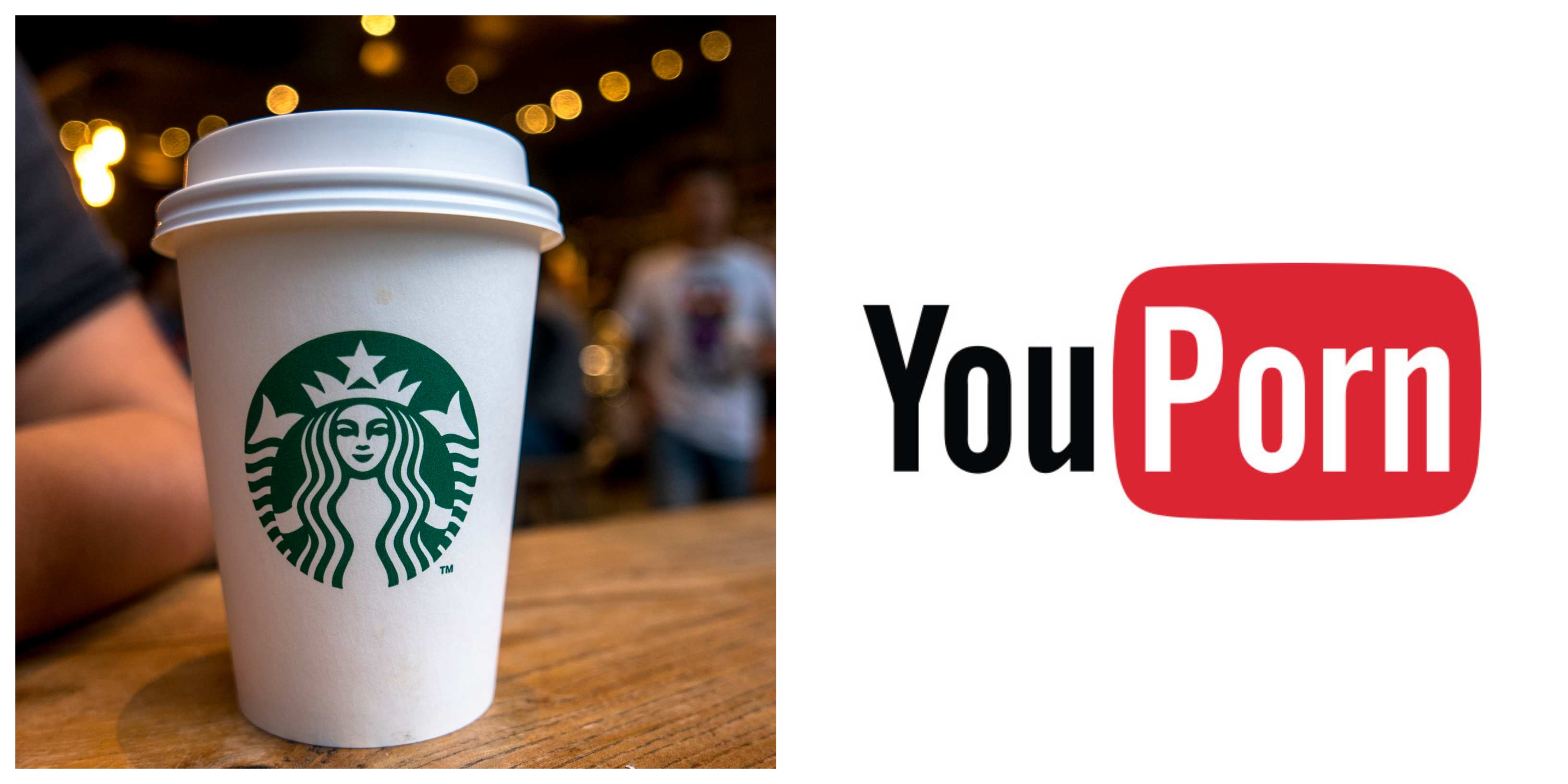 Starbucks and YouPorn