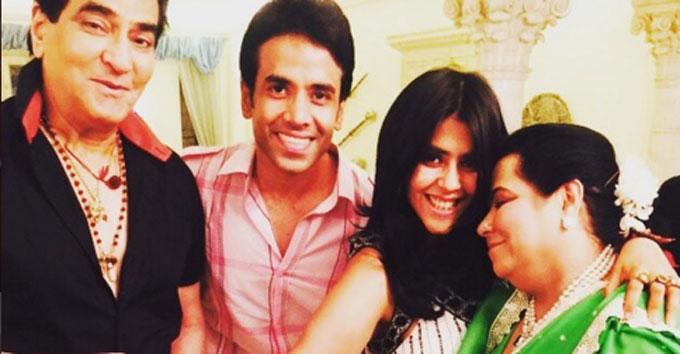 Ekta Kapoor son Ravie Kapoor naming ceremony