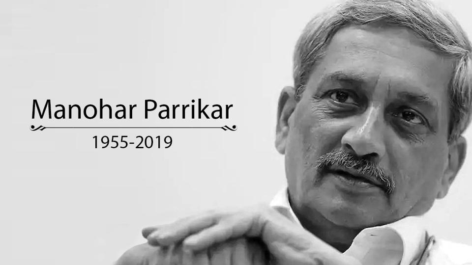 Manohar Parrikar passes away