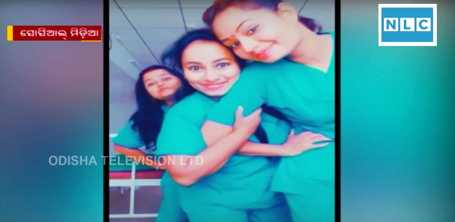 TikTok video in hospital