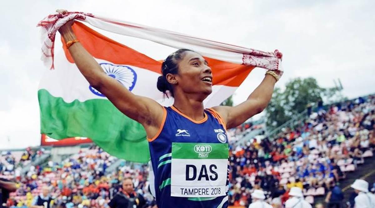Hima-Das won 5 gold medals