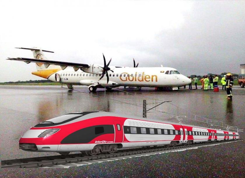 Train fares higher than plane fare