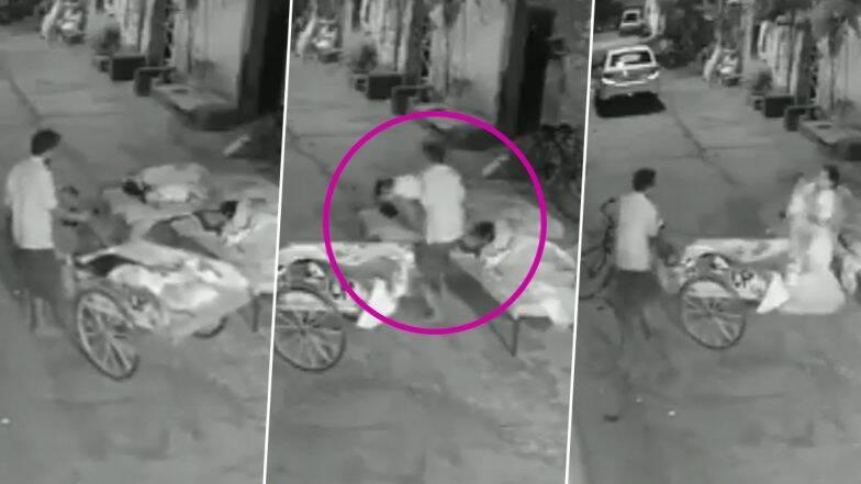 A man kidnapping