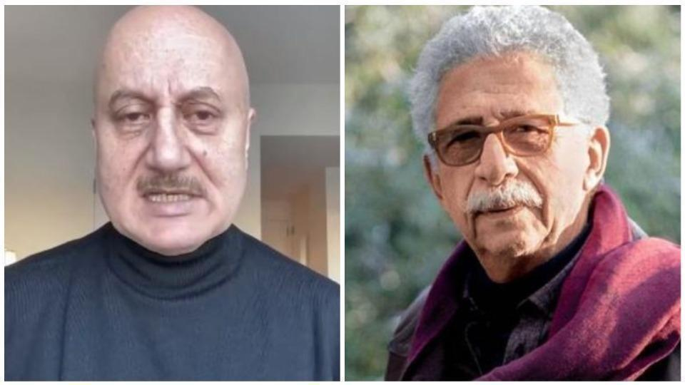 Here's a detailed review of the cold war amid Naseeruddin and Anupam Kher: LEARN MORE