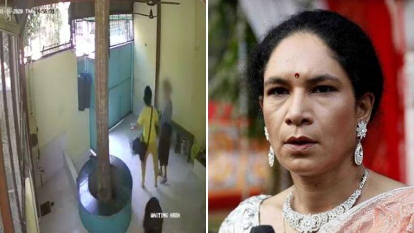 Sometimes action explains better than words; watch Naseeruddin's daughter beating a nurse.