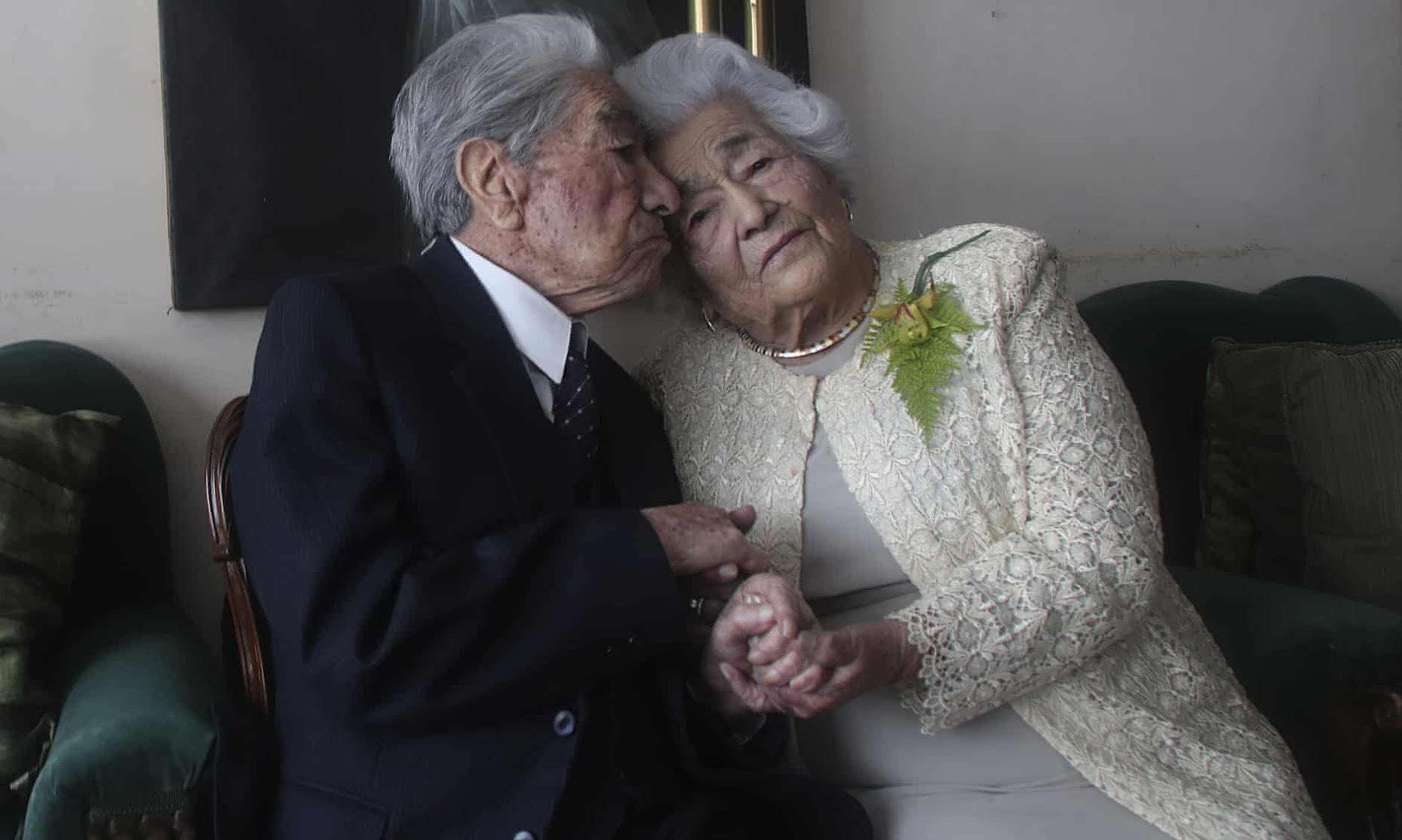 Ecuadorian Couple sets Guinness World Record by becoming World's Oldest Married Couple
