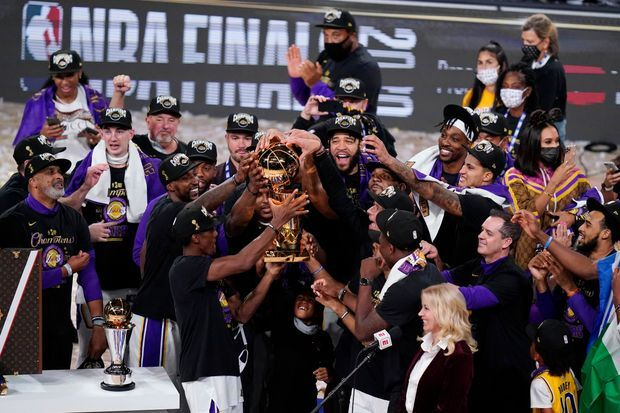 The entire Los Angeles team dedicated the team's 17th NBA Championship to the late Kobe Bryant as well as his daughter Gigi Bryant who both tragically passed away in January.