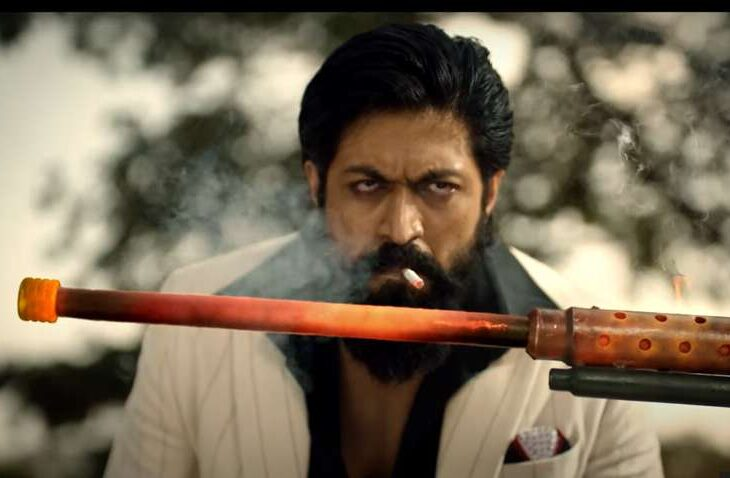 KGF Chapter 2 follows the story of Rocky who rises from poverty to become the king and of a gold mine. The film is directed by Prashanth Neel and produced by Hombale Films