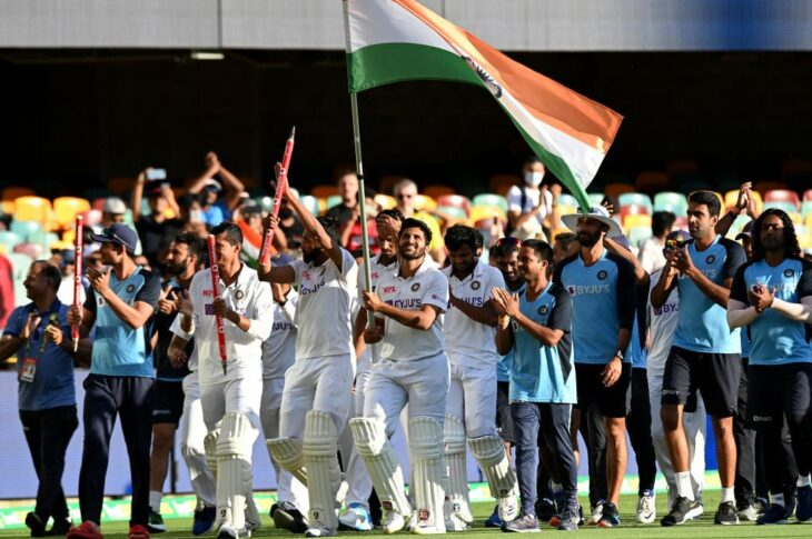 India displaces Australia to become the new No.2 in the ICC Test Team Ranking.