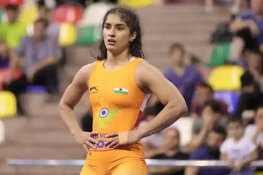 During the lockdown, Vinesh Phogat used to train in Haryana while her coach Woller Akos of Hungary oversaw her routines virtually.