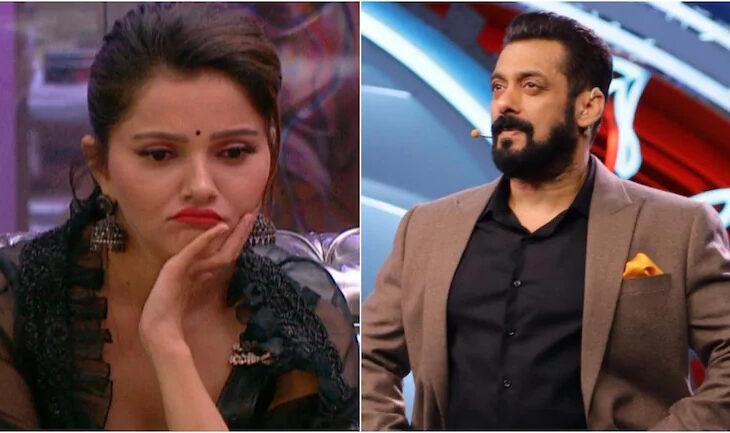 The promo started with Salman asking Abhinav that Rakhi calling him 'Tharki' is worse or his wife calling Rakhi 'neech,ghatiya,zaleel'.Abhinav agreed that Rubina should not have said those things.