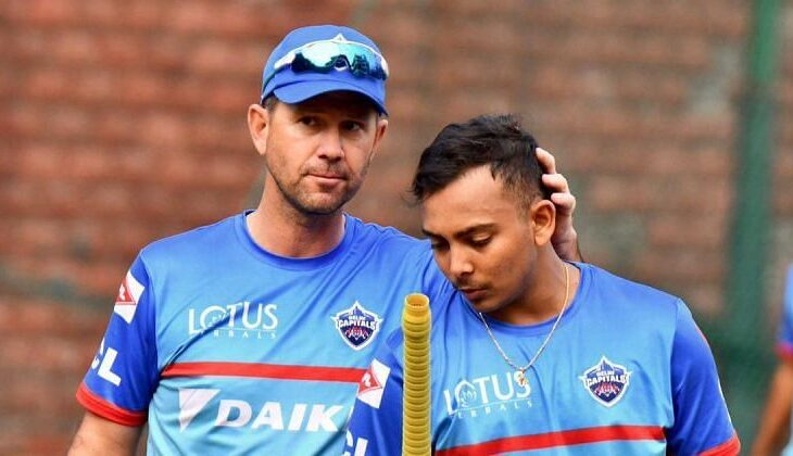Meanwhile, Ricky Ponting joined the DC squad on March 29 and just completed his week-long quarantine required to enter the IPL bio-bubble whereas After being dropped from the Australian Test Series, The 21-year-old Prithvi Shaw had recently scored 827 runs from eight matches for Mumbai in the Vijay Hazare Trophy