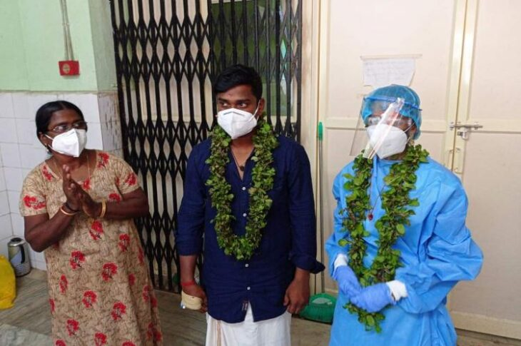 However, Kerela had reported nearly 28,469 cases on the very day the couple got married and as many as 40 deaths in the last 24 hours.