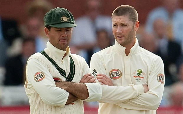 Ponting played 16 Tests under Clarke between 2011 and late 2012 and scored 1,015 runs. His average was 37.59, which is comparatively less than his career average.