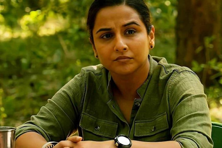 it is a metaphor for Vidya Vincent who has to fight against the patriarchy, politics, and her seniors in the forest department who are likely devoted towards their political leaders