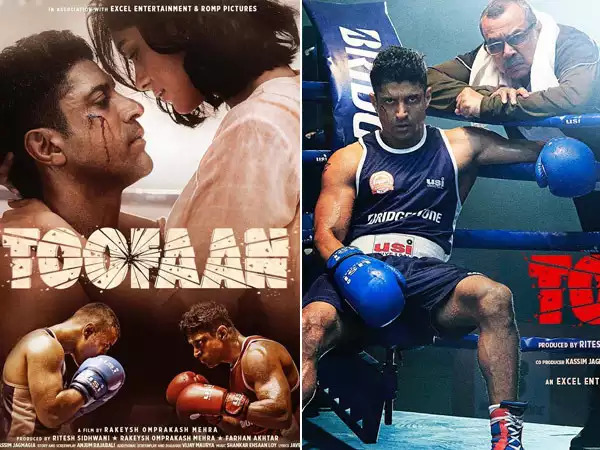 Netizens set the social media abuzz as '#Toofaan' Trailer looks engrossing and the storm has finally arrived for movie lovers. Read at - https://bit.ly/3hiKTzw #Toofaan #ToofaanTrailer #farhanakhtar #MrunalThakur #Boxing #AzizAli #AjjuBhai #Sports
