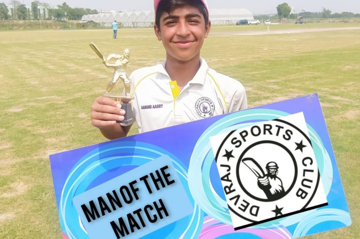 Moreover, Lalit Bidhuri (coach of Tanmay Singh) during the presentation ceremony said that Tanmay is blessed with both perfect timing and power and he can score big scores in the coming years.