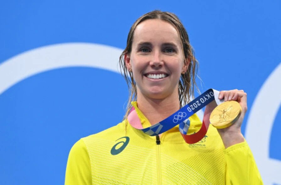 OMG ! Emma McKeon from Australia becomes the first female ...