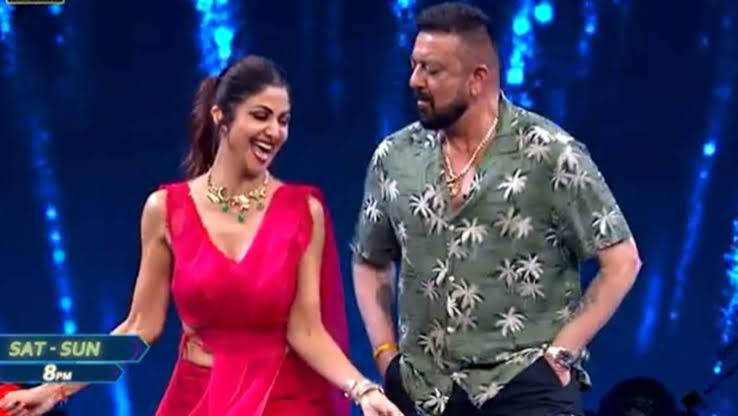 Super Dancer 4 - Shilpa Shetty and Sanjay Dutt dance has become new talk of the town: Watch Video