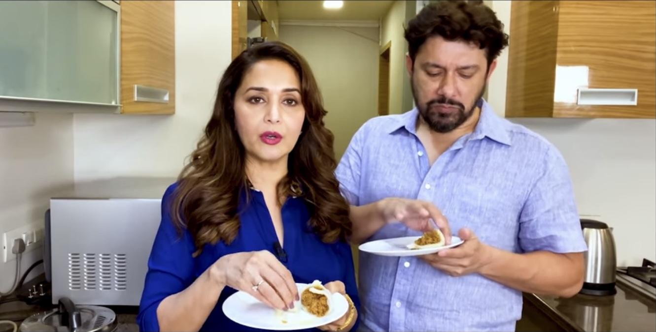 Watch: Dhak Dhak girl Modak making tutorial on Ganesh Chaturthi is a best gift for her fans.